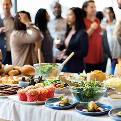 Catering en eventos Gesgourmet